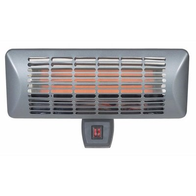 La Hacienda Grey Wall Mounted Quartz 2000W Electric Patio Heater