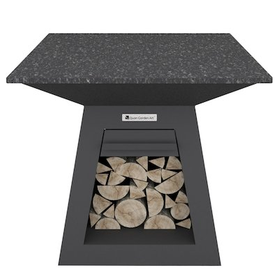 Quan Quadro Premium Large Plancha Firepit Table