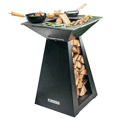 Quan Quadro Basic Small Plancha Firepit Table