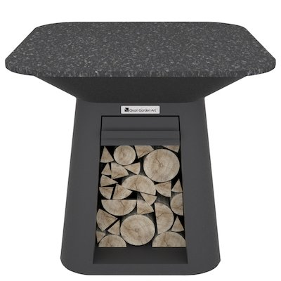 Quan Rondo Premium Large Plancha Firepit Table
