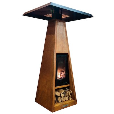 Quan Wood Fired Outdoor Heater