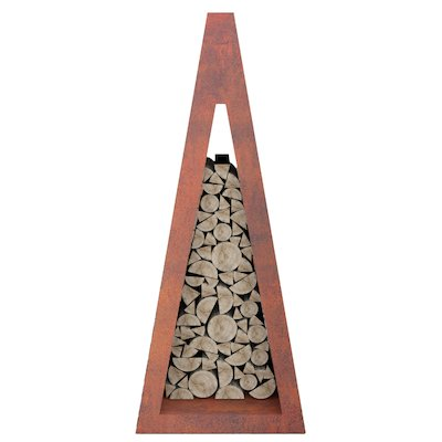 Quan Pyramid Narrow Outdoor Log Store