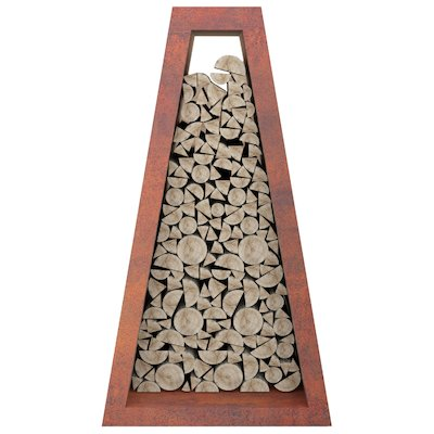 Quan Pyramid Wide Outdoor Log Store