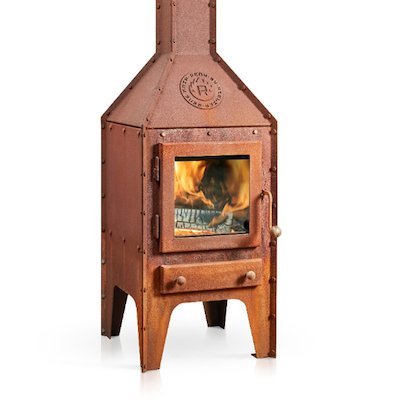 RB73 Bijuga Outdoor Wood Stove