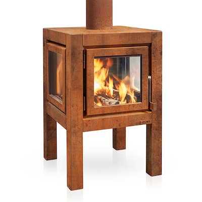 RB73 Quaruba L Outdoor Wood Stove