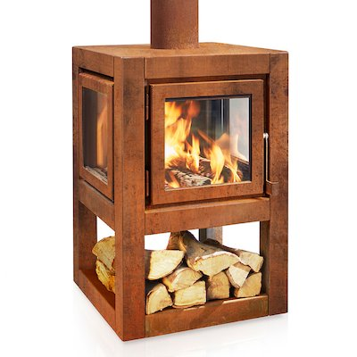 RB73 Quaruba L Mobile Outdoor Wood Stove