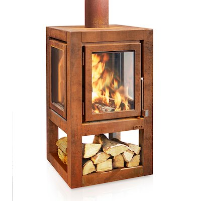 RB73 Quaruba XL Mobile Outdoor Wood Stove