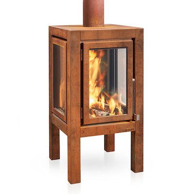 RB73 Quaruba XXL Outdoor Wood Stove