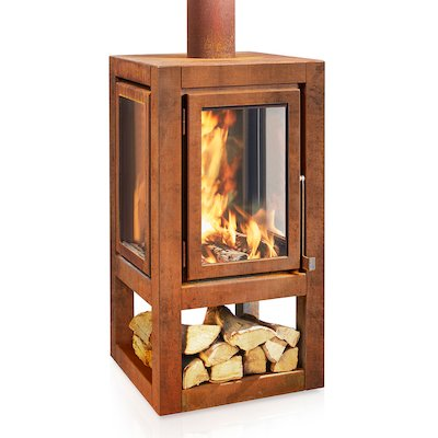 RB73 Quaruba XXL Mobile Outdoor Wood Stove