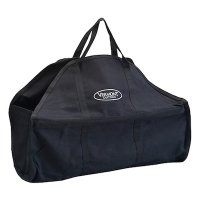 Vermont VC20 Canvas Wood Bag Log Carrier - With Zip