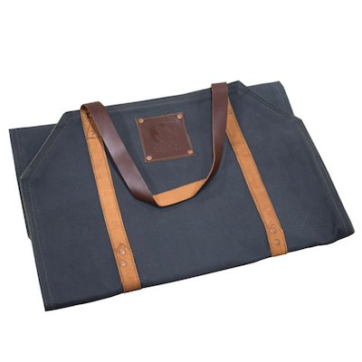 Arada Wood Sling Canvas Log Carrier