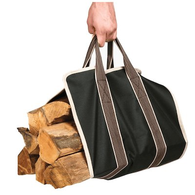 Stovax Wood Sling Canvas Log Carrier