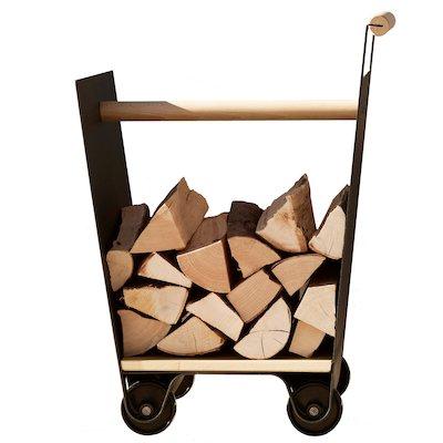 Ferrari Opus Focus Currus Firewood Log Trolley