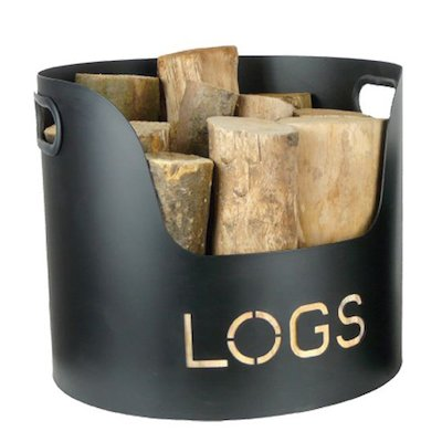 Manor Kindling Wood Pot