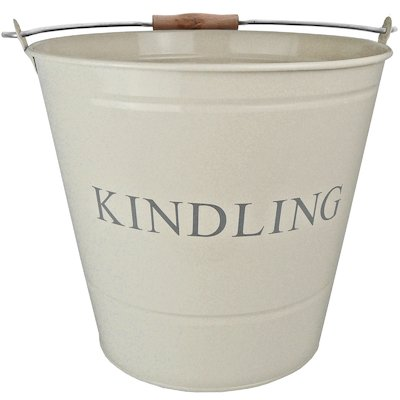 Manor Large Kindling Wood Bucket - With Lid