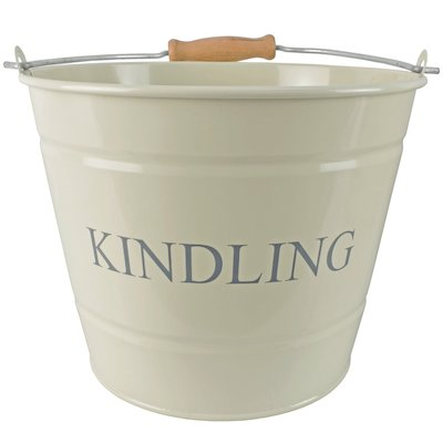 Manor Small Kindling Wood Bucket - With Lid