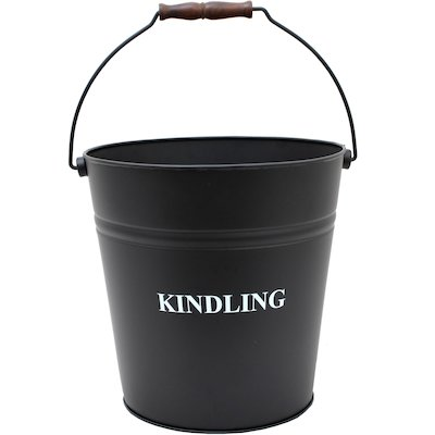 Calfire Kindling Wood Bucket - With Lid