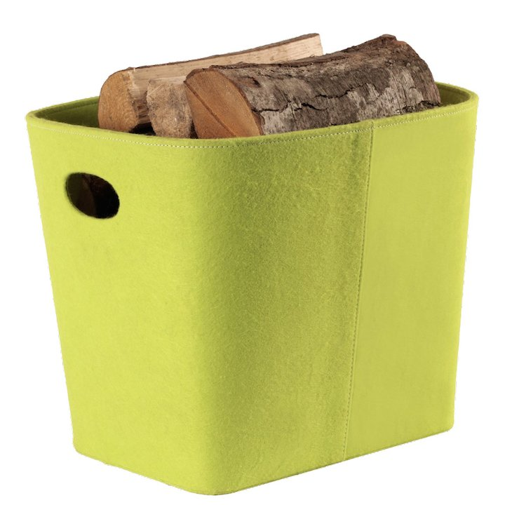 Termatech Tapered Log Basket - Lime Green
