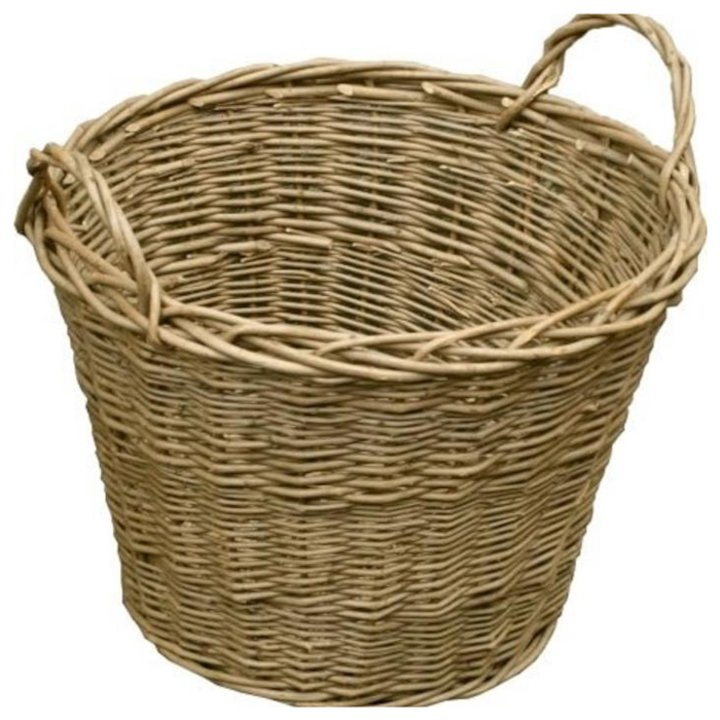 Calfire Wild Willow Log Basket Brown Standard - Brown