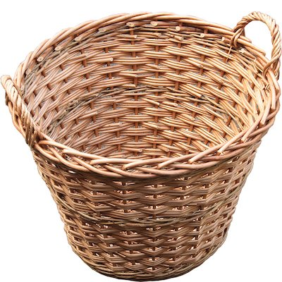Calfire Round Basic Log Basket