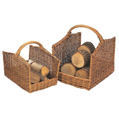 Manor Cutcombe Log Baskets - Set of 2