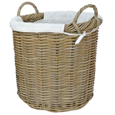 Manor Langham Medium Log Basket
