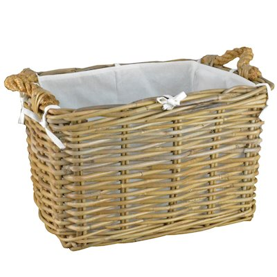 Manor Hilton Small Log Basket
