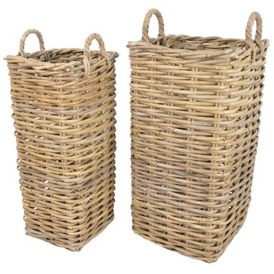 Manor Marriott Log Baskets - Set of 2