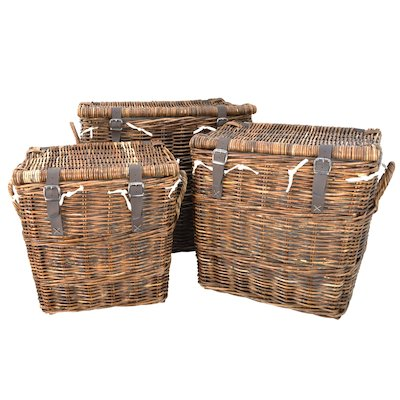 Manor Washington Log Baskets - Set of 3