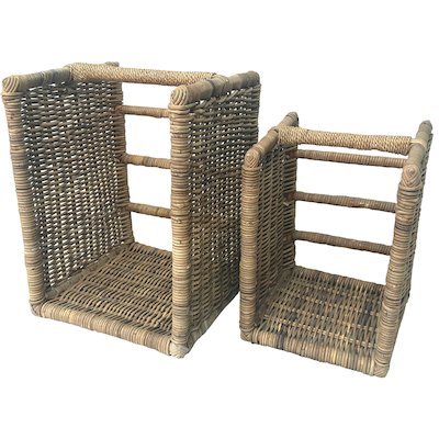 Manor Beaumont Log Baskets - Set of 2