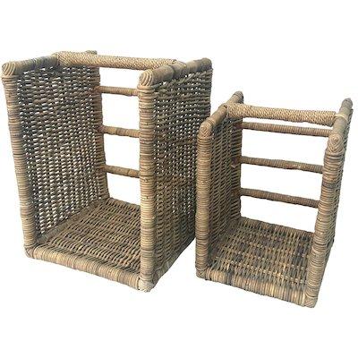 Manor Beaumont Log Baskets - Set of 2