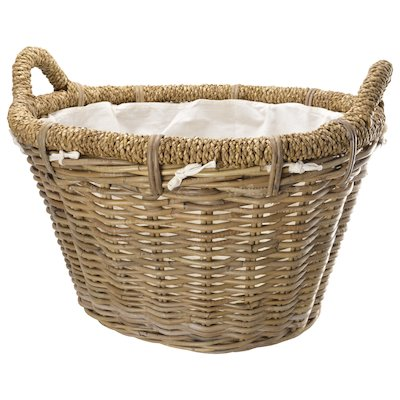 Manor Rosewood Log Basket