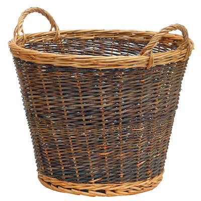 Manor Duo Tone Large Log Basket
