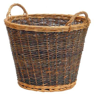 Manor Duo Tone Large Log Basket