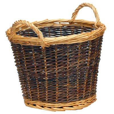 Manor Duo Tone Small Log Basket