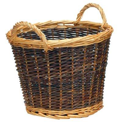 Manor Duo Tone Small Log Basket