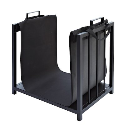 Manor Rack Log Holder - With Canvas Bag