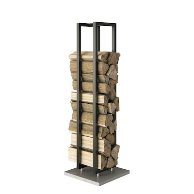 Rais Woodwall Short Freestanding Log Holder