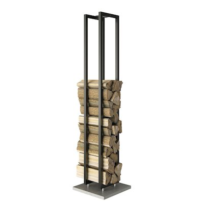 Rais Woodwall Tall Freestanding Log Holder