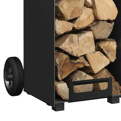 Stovax Contemporary Log Store Wheel Kit