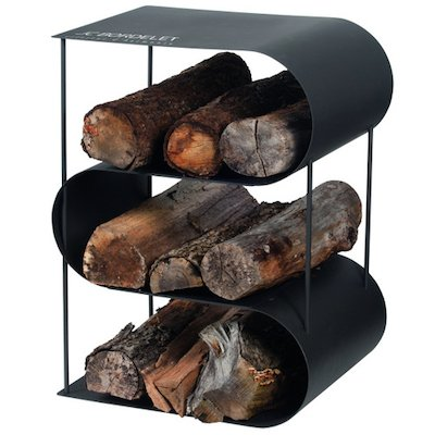 JC Bordelet Modern Log Holder - Clearance