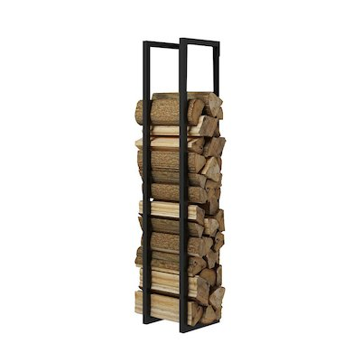 Rais Woodwall Open Short Wall Mounted Log Holder