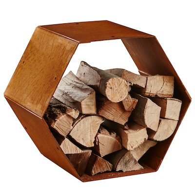 Heta Hexagon Modular Outdoor Log Store