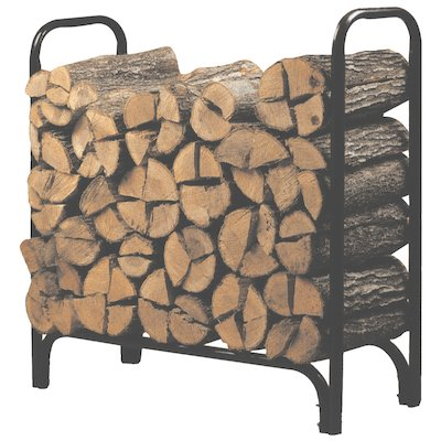Calfire Outdoor Metal Log Rack