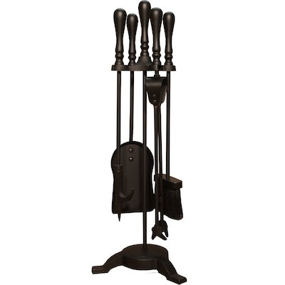 Calfire Traditional Tall Fire Tool Companion Set