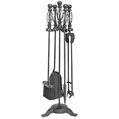 Manor Ball Cage Fire Tool Companion Set
