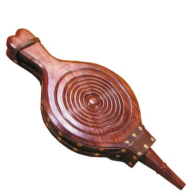 Calfire Carved Functional Fireplace Bellows - 470mm