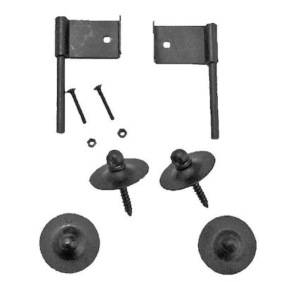 Manor Fire Screen Wall Hook Kit