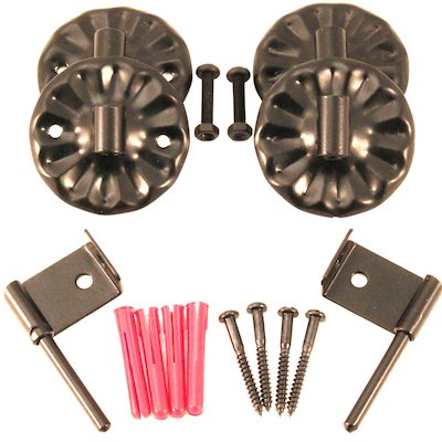 Calfire Noble Fire Screen Wall Hook Kit