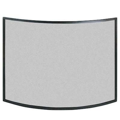 Calfire 3 Fold Narrow Curved Small Fire Screen